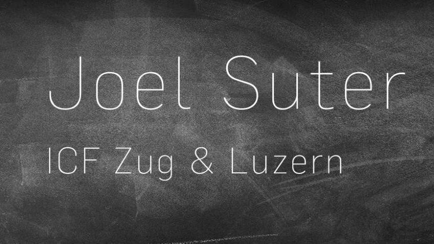 Special Guest - Joel Suter
